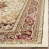 Safavieh Lyndhurst Ivory and Red Square Indoor Machine-Made Area Rug (Common: 6 x 6; Actual: 72-in W x 72-in L x 0.33-ft Dia)