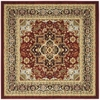 Safavieh Lyndhurst 8-ft x 8-ft Square Red Transitional Area Rug