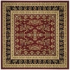 Safavieh Lyndhurst 8-ft x 8-ft Square Red Floral Area Rug