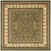 Safavieh Lyndhurst 8-ft x 8-ft Square Green Transitional Area Rug