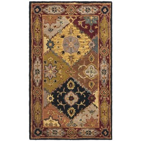 Safavieh Heritage 36-in x 60-in Rectangular Multicolor Geometric Accent Rug