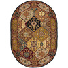 Safavieh Heritage 4-ft 6-in x 6-ft 6-in Oval Multicolor Transitional Area Rug