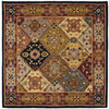 Safavieh Heritage 8-ft x 8-ft Square Multicolor Transitional Area Rug