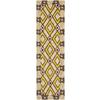 Safavieh Four Seasons Cream Indoor/Outdoor Runner (Common: 2-ft x 6-ft; Actual: 27-in x 72-in)