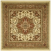 Safavieh Lyndhurst 8-ft x 8-ft Square Cream Transitional Area Rug