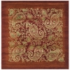 Safavieh 8-ft x 8-ft Red Paisley Area Rug