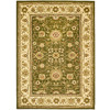Safavieh 9-ft x 12-ft Green Kashan Area Rug