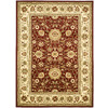 Safavieh Lyndhurst 8-ft 11-in x 12-ft Rectangular Red Floral Area Rug