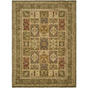 Safavieh Lyndhurst Multicolor and Green Rectangular Indoor Machine-Made Area Rug (Common: 9 x 12; Actual: 107-in W x 144-in L x 0.67-ft Dia)
