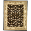 Safavieh 9-ft x 12-ft Black Sarouk Area Rug