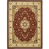 Safavieh Lyndhurst 8-ft 11-in x 12-ft Rectangular Red Transitional Area Rug