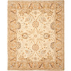 Safavieh Anatolia Silver and Light Brown Rectangular Indoor Tufted Area Rug (Common: 9 x 12; Actual: 108-in W x 144-in L x 0.83-ft Dia)