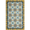 Safavieh Four Seasons 3-ft 6-in x 5-ft 6-in Rectangular Tan Geometric Indoor/Outdoor Area Rug