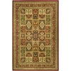Safavieh Lyndhurst Multicolor and Red Rectangular Indoor Machine-Made Area Rug (Common: 4 x 6; Actual: 48-in W x 72-in L x 0.42-ft Dia)
