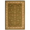 Safavieh Lyndhurst 48-in x 6-ft Rectangular Green Floral Area Rug