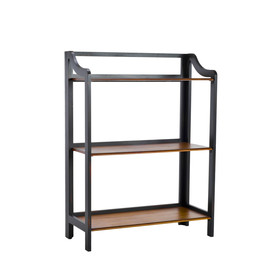 Safavieh 39-in H x 29-in W x 13-in D 3-Tier Wood Freestanding Shelving Unit