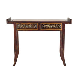 Safavieh American Home Brown Birch Rectangular Console and Sofa Table