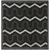 Safavieh York 6-ft x 6-ft Square Gray Geometric Area Rug