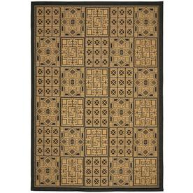 Safavieh 8-ft x 11-ft Rectangular Black Area Rug