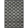 Safavieh York 31-in x 60-in Rectangular Gray Geometric Accent Rug