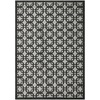 Safavieh York 8-ft x 10-ft Rectangular Gray Geometric Area Rug