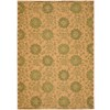 Safavieh 6-ft x 9-ft Rectangular Green Area Rug
