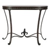 Safavieh American Home Brown Birch Half-Round Console and Sofa Table
