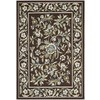 Safavieh Veranda 5-ft 3-in x 7-ft 7-in Rectangular Brown Floral Indoor/Outdoor Area Rug