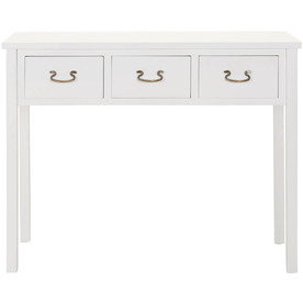 White Console Table : Safavieh American Home White Poplar Rectangular Console and Sofa Table