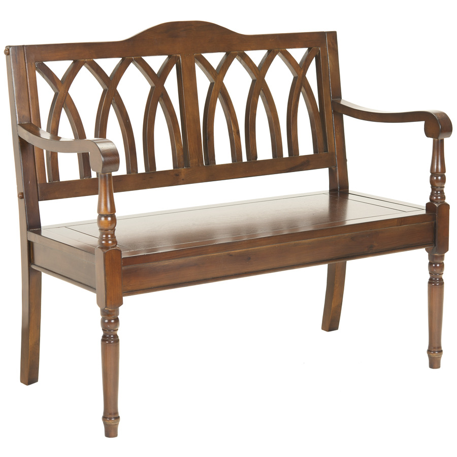 Shop Safavieh American Home Brown Indoor Entryway Bench At