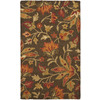 Safavieh Blossom 36-in x 60-in Rectangular Brown Floral Accent Rug