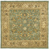 Safavieh Heritage 6-ft x 6-ft Square Blue Transitional Area Rug