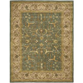 Safavieh Heritage Blue and Beige Rectangular Indoor Tufted Area Rug (Common: 8 x 11; Actual: 99-in W x 132-in L x 0.67-ft Dia)
