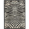 Safavieh Lyndhurst White and Black Rectangular Indoor Machine-Made Area Rug (Common: 9 x 12; Actual: 107-in W x 144-in L x 0.67-ft Dia)