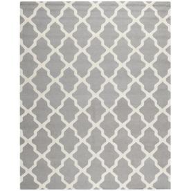 Safavieh Cambridge Black and Ivory Rectangular Indoor Tufted Area Rug (Common: 8 x 10; Actual: 96-in W x 120-in L x 0.67-ft Dia)