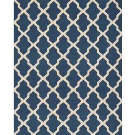 Safavieh Cambridge Dark Brown and Ivory Rectangular Indoor Tufted Area Rug (Common: 9 x 12; Actual: 108-in W x 144-in L x 0.75-ft Dia)