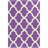 Safavieh Cambridge 4-ft x 6-ft Rectangular Purple Geometric Area Rug
