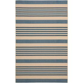 Safavieh Courtyard Rectangular Indoor/Outdoor Woven Area Rug (Common: 5 x 8; Actual: 63-in W x 91-in L)