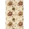 Safavieh Jardin Ivory and Multicolor Rectangular Indoor Hand-Hooked Area Rug (Common: 5 x 8; Actual: 60-in W x 96-in L x 0.58-ft Dia)