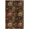 Safavieh 4-ft x 6-ft Chocolate Jain Area Rug