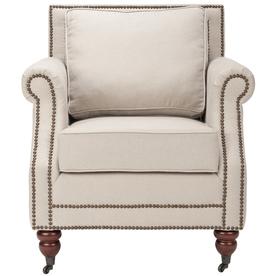 Safavieh Mercer Beige Club Chair