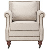 Safavieh Mercer Beige Club Chair