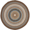 Safavieh Cottage 6-ft x 6-ft Round Tan Transitional Indoor/Outdoor Area Rug