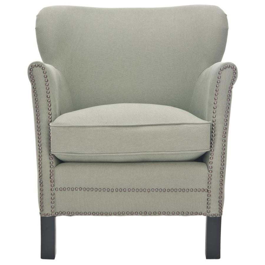 Shop Safavieh Mercer Grey Accent Chair At
