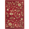 Safavieh Lyndhurst Red and Multicolor Rectangular Indoor Machine-Made Area Rug (Common: 4 x 6; Actual: 48-in W x 72-in L x 0.42-ft Dia)