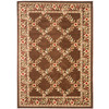Safavieh Lyndhurst 4-ft x 6-ft Rectangular Tan Floral Area Rug