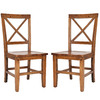 Safavieh Set of 2 American Home Brown Stackable Gaming Chair