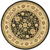 Safavieh Lyndhurst 5-ft 3-in x 5-ft 3-in Round Black Transitional Area Rug
