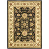 Safavieh 8-ft x 11-ft Black Kashan Area Rug