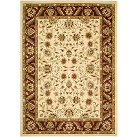 Safavieh Lyndhurst 39-in x 63-in Rectangular Ivory Transitional Accent Rug